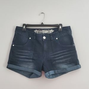 Express Jean Denim Shorts Size 10